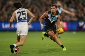 AFL 2017 Round 05 - Port Adelaide v Cartlon