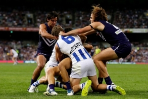 AFL 2017 Round 05 - Fremantle v North Melbourne