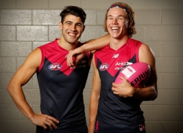 AFL 2017 Media - BCNA Demons Record Shoot