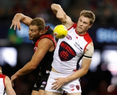 AFL 2017 Round 06 - Essendon v Melbourne