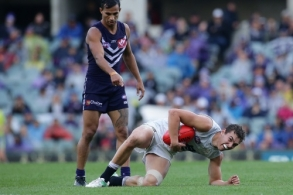 AFL 2017 Round 09 - Fremantle v Carlton