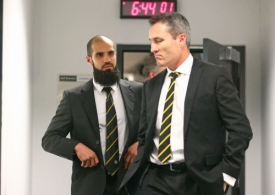 AFL 2017 Media - Bachar Houli Tribunal Hearing
