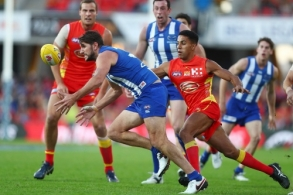 AFL 2017 Round 15 - Gold Coast v North Melbourne