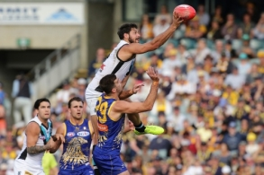 AFL 2017 Round 16 - West Coast v Port Adelaide