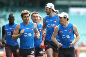 AFL 2017 Training - Sydney 110717