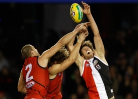 AFL 2017 Round 17 - St Kilda v Essendon