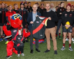 AFL 2017 Media - Essendon Media Opportunity 180717