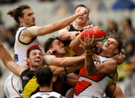 AFL 2017 Round 18 - Richmond v GWS Giants