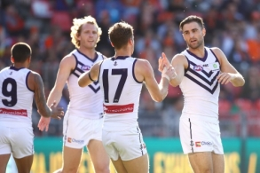 AFL 2017 Round 19 - GWS Giants v Fremantle
