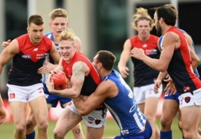 AFL 2017 Round 19 - North Melbourne v Melbourne