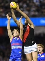 AFL 2017 Round 19 - Western Bulldogs v Essendon