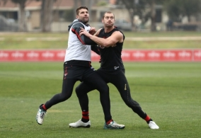 AFL 2017 Training - Essendon 020817