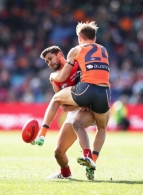 AFL 2017 Round 20 - GWS Giants v Melbourne