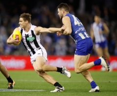 AFL 2017 Round 20 - North Melbourne v Collingwood