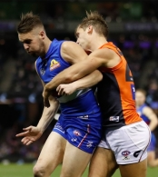 AFL 2017 Round 21 - Western Bulldogs v GWS Giants