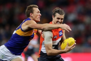 AFL 2017 Round 22 - GWS Giants v West Coast