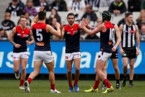 AFL 2017 Round 23 - Collingwood v Melbourne