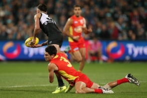 AFL 2017 Round 23 - Port Adelaide v Gold Coast