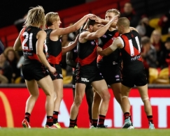 AFL 2017 Round 23 - Essendon v Fremantle