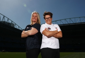 AFL 2017 Media - NAB AFL Women's State of Origin Captains and Coaches Press Conference
