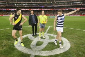 AFL 2017 Second Qualifying Final - Geelong v Richmond