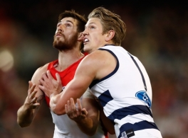 AFL 2017 Second Semi Final - Geelong v Sydney