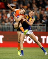 AFL 2017 First Semi Final - GWS v West Coast