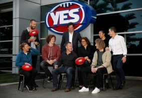 AFL 2017 Media - AFL Yes Launch