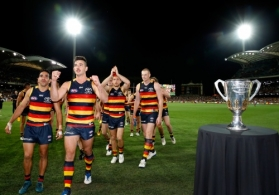 AFL 2017 First Preliminary Final - Adelaide v Geelong
