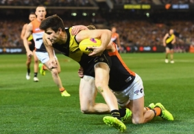 AFL 2017 Second Preliminary Final - Richmond v GWS