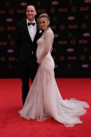 AFL 2017 Media - Swisse Brownlow Red Carpet Arrivals
