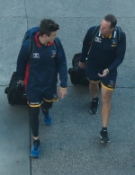AFL 2017 Media - Adelaide Crows Arrive in Melbourne