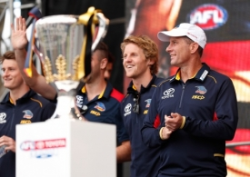 AFL 2017 Media - Toyota AFL Grand Final Parade