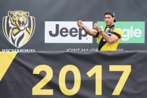 AFL 2017 Media - Richmond Family Day 011017