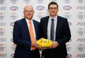 AFL 2017 Media - 2018 JLT Community Series Fixture Launch