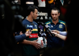 AFL 2017 Media - International Rules Press Conference 021117