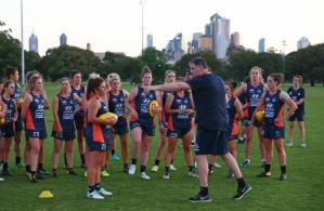 AFLW 2017 Training - Carlton 211117