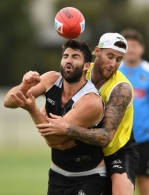 AFL 2017 Training - Collingwood 271117