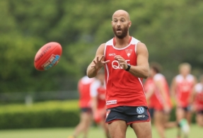 AFL 2017 Training - Sydney 041217