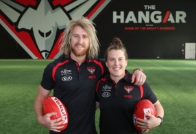 AFL 2017 Training - Essendon 081217