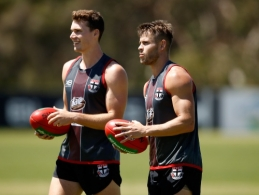 AFL 2017 Training - St Kilda 151217