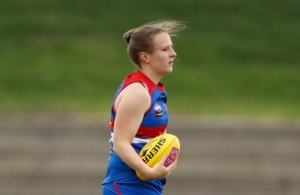 AFLW 2017 Training - Western Bulldogs 201217