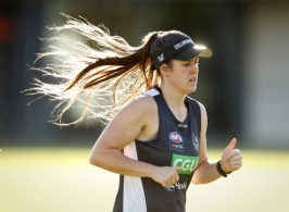 AFLW 2017 Training - Collingwood 131217