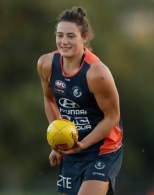 AFLW 2018 Training - Carlton 180118