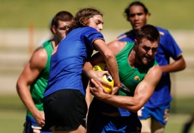 AFL 2018 Training - West Coast Eagles 240118