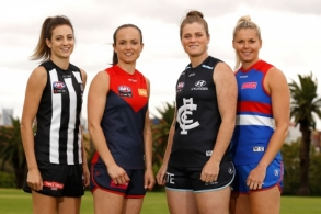 AFL 2018 Media - AFLW Season Launch and Captains Day