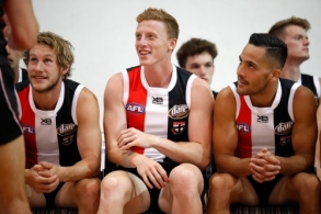 AFL 2018 Media - St Kilda Team Photo Day