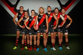 AFL 2018 Media - Essendon Leadership Group