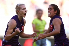 AFLW 2018 Rd 02 - Fremantle v Collingwood