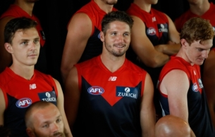 AFL 2018 Media - Melbourne Demons Team Photo Day